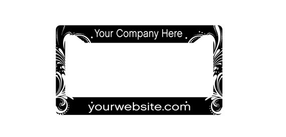 License Plate Frame - License Plate Cover - Purple License Plate ...