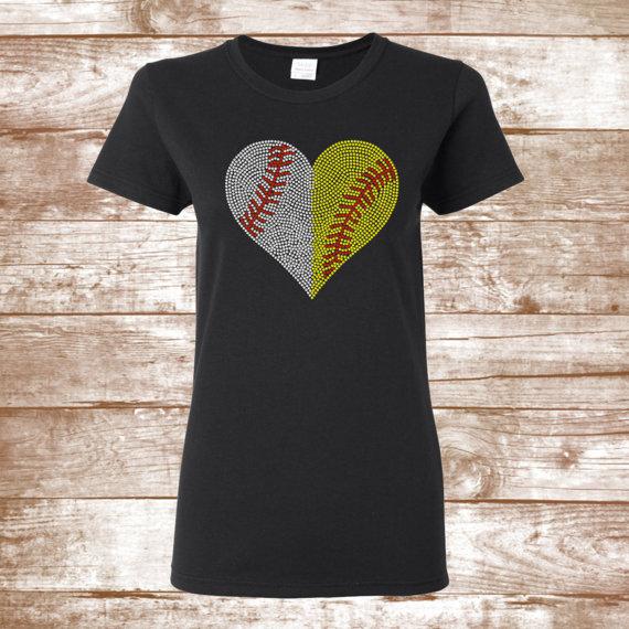 0aee1e3db Baseball/Softball Bling Shirt -Personalized Shirt Baseball Mom Shirt ...