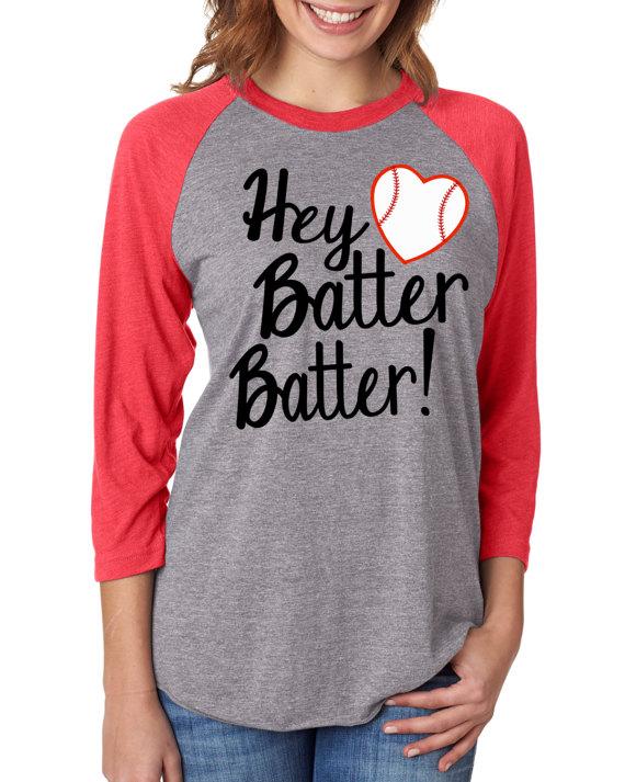 0bbd47b15 Baseball Mom Shirt - Home Run -Hey Batter Batter - Raglan - Next ...